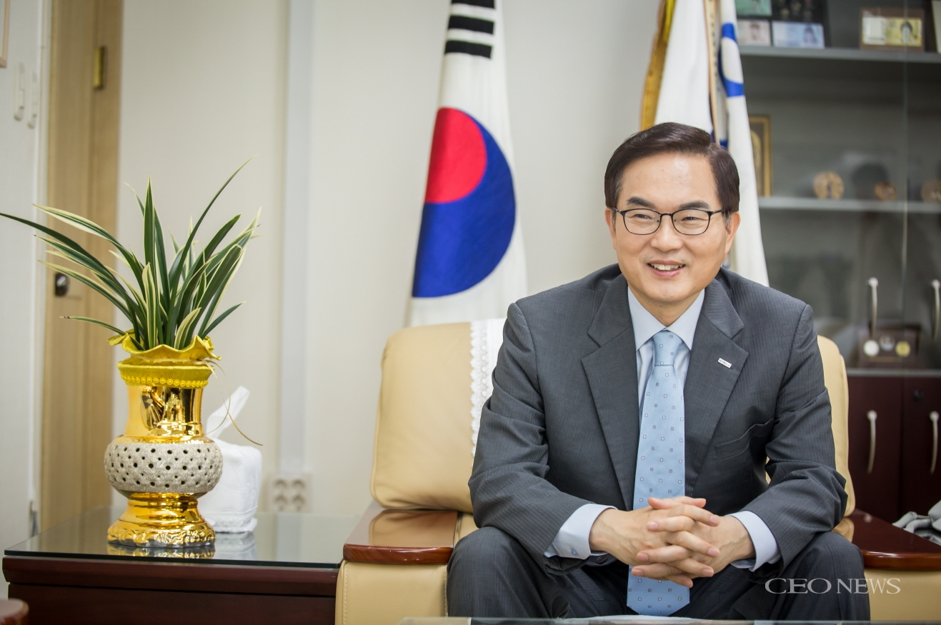 [단독인터뷰] 조용만 한국조폐공사 사장, '글로벌 조폐보안기업'으로 도약
